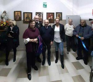 Montefiascone - Inaugurata la mostra di arte a Villa Serena