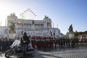 Roma - Giornata delle Forze Armate