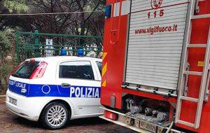 Polizia locale e vigili del fuoco