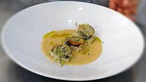 Fiera di Roma - Il filetto di spigola dell'alberghiero di Montalto di Castro cucinato alla manifestazione Mercato Mediterraneo