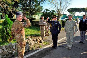 Cerveteri - Il 17esimo stormo incursori ricorda il paracadutista Mirko Rossi