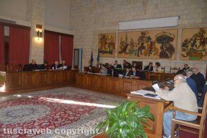 Il consiglio comunale di Tarquinia