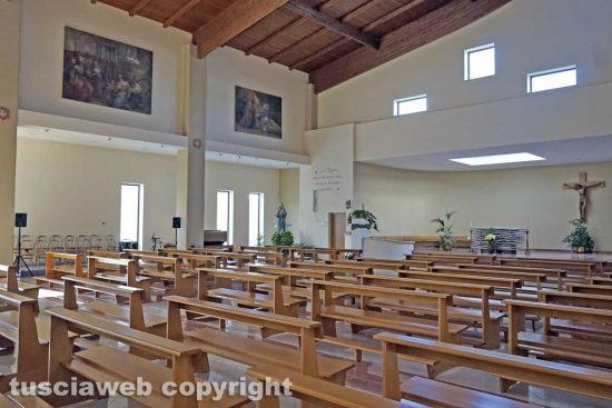 Viterbo - La chiesa di Villanova dei Santi Ilario e Valentino