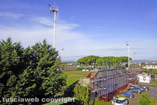 Viterbo - Il campo sportivo di Villanova