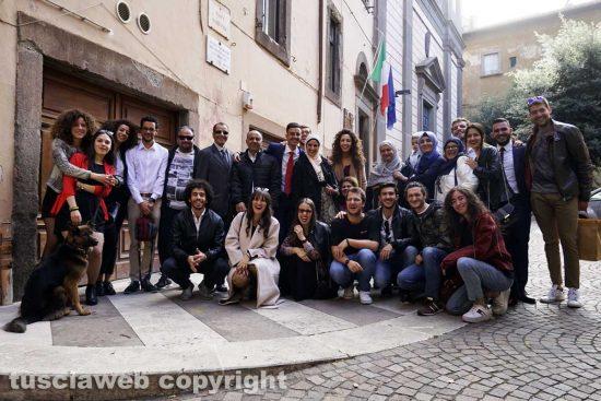Viterbo - La famiglia di Rami Torkhani