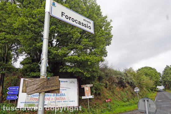 Vetralla - Strada Foro Cassio
