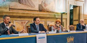 Viterbo - Sala Regia - Il convegno degli elettori