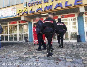 I carabinieri al Palamalè