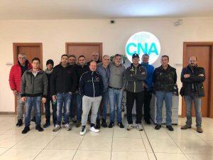 Viterbo - Cna - I partecipanti alla quarta edizione del corso Fer