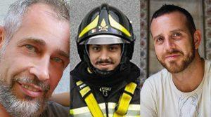 I tre vigili del fuoco morti ad Alessandria
