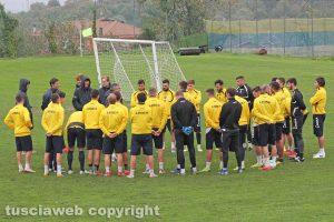 Sport - Calcio - Viterbese - L'allenamento