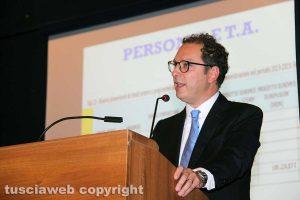 Viterbo - Il nuovo rettore Stefano Ubertini