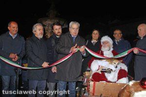 Viterbo - L'inaugurazione Christmas Village