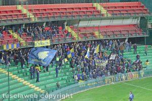 Sport - Calcio - Viterbese - I tifosi gialloblù al Liberati