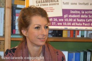 La giornalista Floriana Bulfon