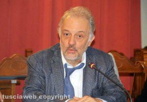 Tarquinia - L'assemblea contro l'inceneritore - L'ignegner Achille Cester