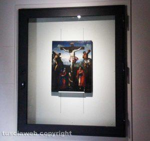 Viterbo - La Crocifissione nel museo colle del duomo