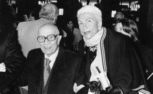 Maria Pia Fanfani col marito Amintore