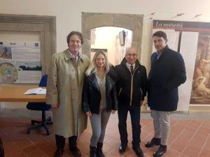 Casa Civita al lavoro sulla Rocca dei Papi
