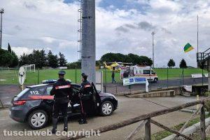 Montefiascone - Uomo colpito da infarto - Intervento di 118 e carabinieri