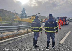 L'incidente sull'A1
