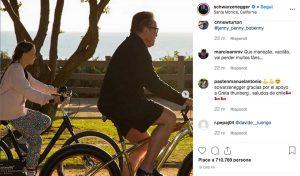 Los Angeles - Il post di Arnold Schwarzenegger sull'incontro con Greta Thunberg