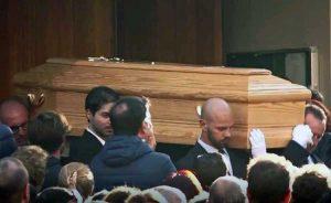 Roma - I funerali di Luca Sacchi