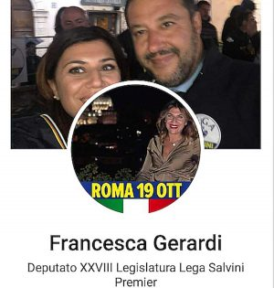 """Francesca Gerardi deputata """"XXVIII"""" legislatura"""