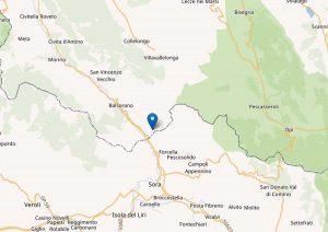 Scossa di terremoto magnitudo 4,4 in provincia di L'Aquila