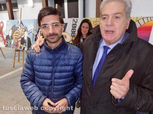 Viterbo - Daniele Sabatini e Giovanni Arena