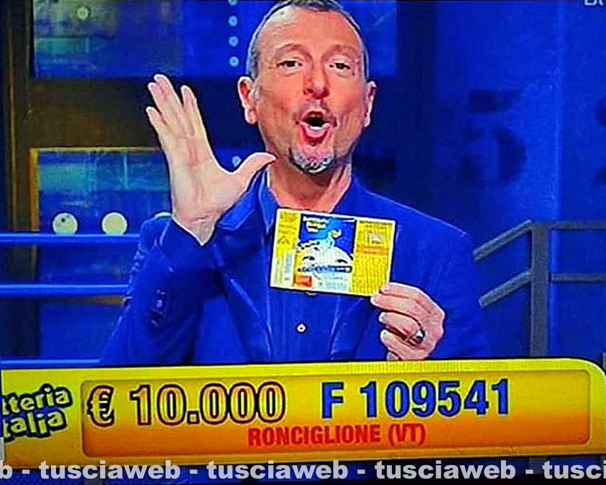 Lotteria Italia, la Tuscia già premiata con 20mila euro