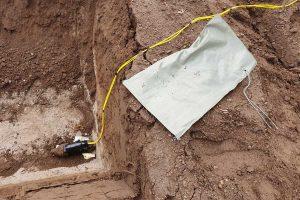 Tessennano - Gli artificieri fanno brillare una bomba