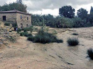 Manciano - Saturnia, terme invase dal fango