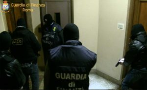 Roma - Guardia di finanza - Operazione Grande raccordo criminale