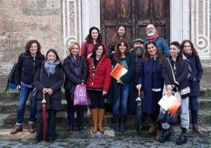 Le delegazioni di Grecia, Cipro e Germania all'Iis Cardarelli di Tarquinia