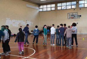 European basketball week special olympics a Civita Castellana