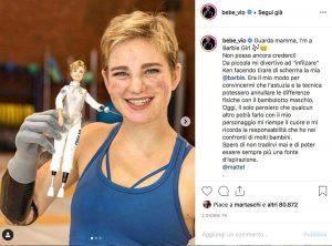 Venezia - La campionessa di scherma Bebe Vio diventa una Barbie