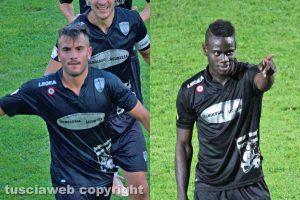 Sport - Calcio - Viterbese - Michele Volpe e Mamadou Tounkara