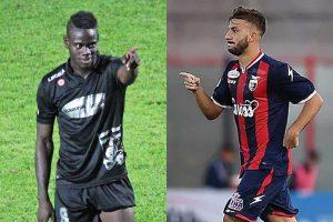 Sport - Calcio - Mamadou Tounkara ed Ernesto Starita