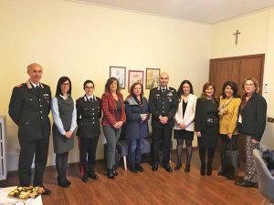 Soroptimist international club di Viterbo al comando provinciale dei carabinieri