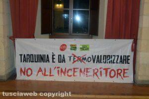 Tarquinia - L'assemblea contro l'inceneritore