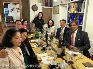 Gli ambasciatori del sud-est asiatico al Labirinto con la proprietaria Valentina Uselli