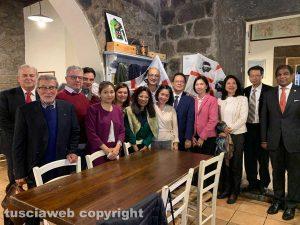 Gli ambasciatori del sud-est asiatico al Labirinto incontrano la Sardegna in Tuscia