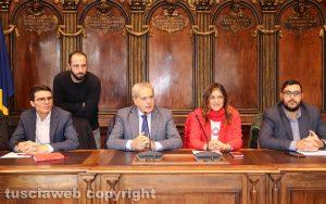 Viterbo - Comune - L'incontro con gli studenti universitari