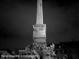 Roma - La fontana del Bernini a piazza Navona