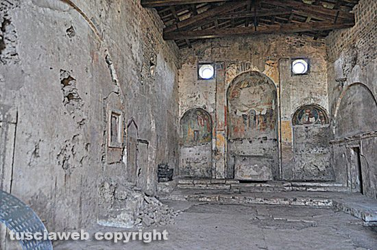 Vetralla - La chiesa di Foro Cassio