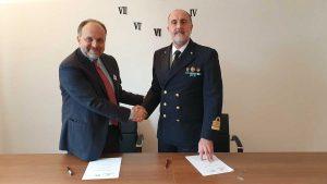 Siglato accordo tra la Guardia Costiera del Lazio e Ambiente Mare Italia
