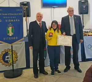 Emanuela Marchini della Vitersport Libertas
