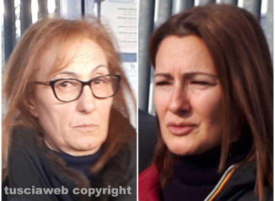 Giallo di Ronciglione - Le mamme di Maria sestina Arcuri e Andrea Landolfi Cudia (a destra)