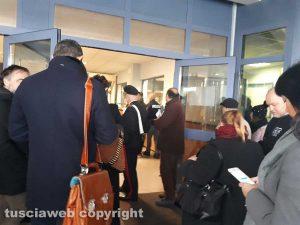 Tribunale - Prove di evacuazione